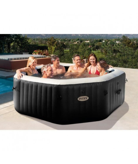INTEX Pure Spa 28462EX Carbone 6 places
