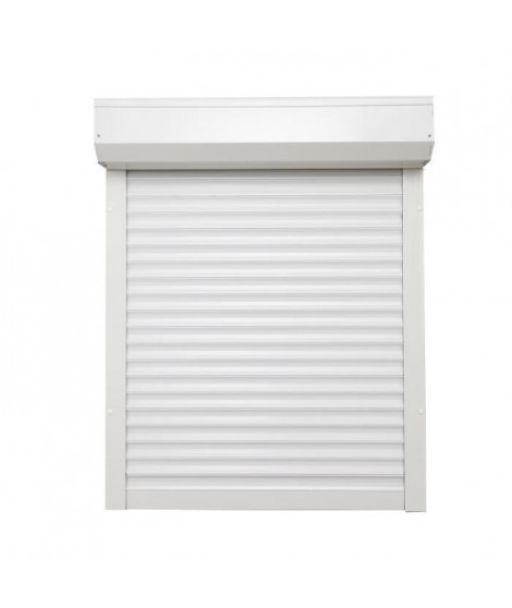 Volet Roulant Filaire SOMFY Alu Blanc 120x120