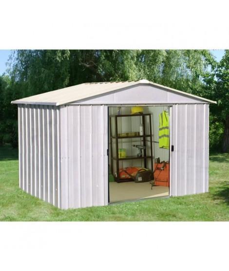 YARDMASTER Abri de jardin en métal 9,03 m²