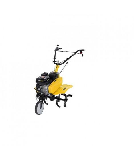 POWERPLUS Motoculteur thermique 2 en 1 motobineuse + Charrue - 208cc 6 fraises