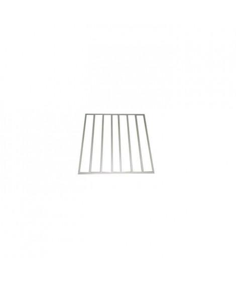 YARDMASTER Kit plancher pour abris de jardin métal 1,80 m²