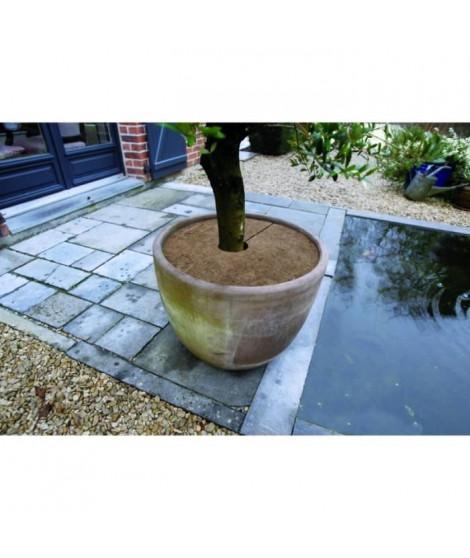 NATURE Lot de 3 disques de plantation en coco - Ø 30 cm - Epaisseur +/- 0,5/1 cm - 750 g/m²