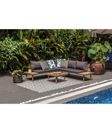 BEAU RIVAGE Salon de jardin Cenitz - 3 places - Bois d'acacia