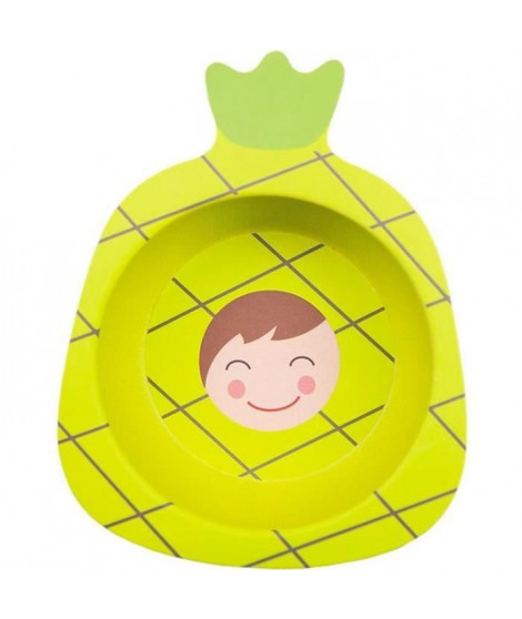 PLASTOREX Bol bambou - Ananas