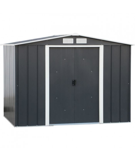DURAMAX Abri de jardin métal 4,77m² - Anthracite