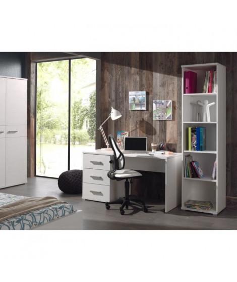 SOFIE Ensemble meubles de bureau enfant 2 éléments blanc - Contemporain