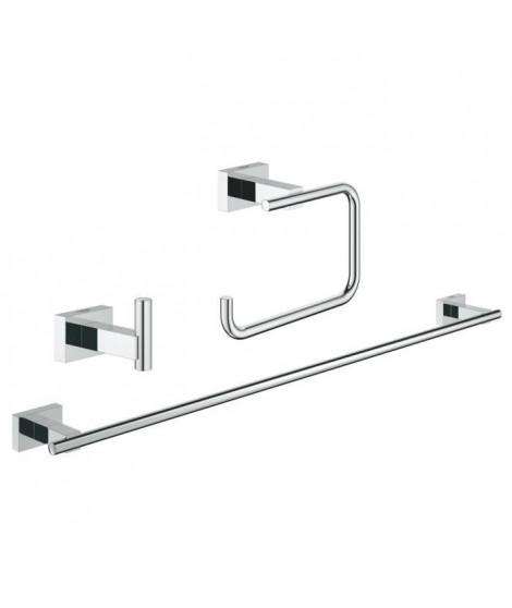 GROHE Set d'accessoires 3 en 1 Essentials Cube 40777001
