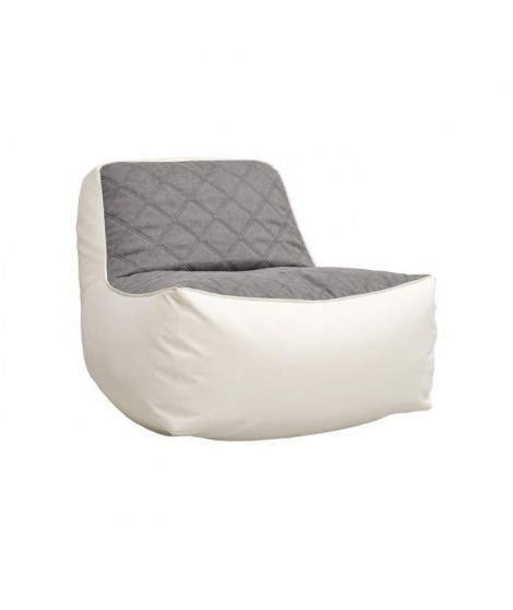 JAM KARO Chauffeuse 83x61x103 cm blanc