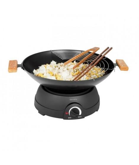 DOMOCLIP DOM194 Wok électrique et fondue - Noir