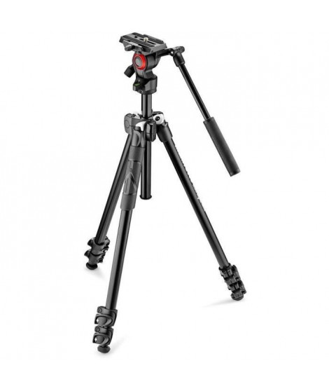 MANFROTTO - MK290LTA3-V - Manfrotto 290 Light avec Rotule Fluide Befree Live - Noir