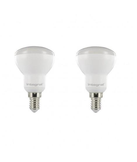 INTEGRAL LED Lot de 2 ampoules réflecteur R50 E14 6 W équivalent a 40 W 3000 K 440 lm