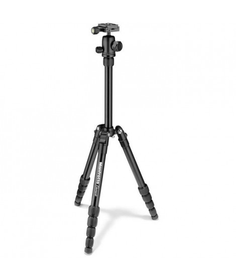 MANFROTTO - MKELES5BK-BH - Petit Trépied Manfrotto Element Traveller - Noir