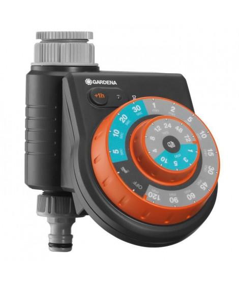 GARDENA Programmateur d'arrosage Easy Plus - Pour robinets 20/27 et 26/34
