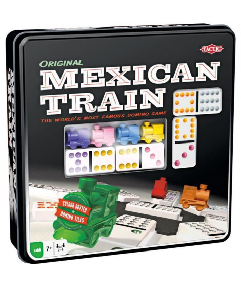 TACTIC - Mexican Train boîte métal