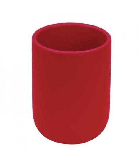 FRANDIS Gobelet en céramique Rouge