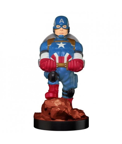 EXQUISITE GAMING Figurine support et recharge manette - Cable Guy Captain America