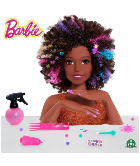 Barbie - Tete a coiffer - Afro Style