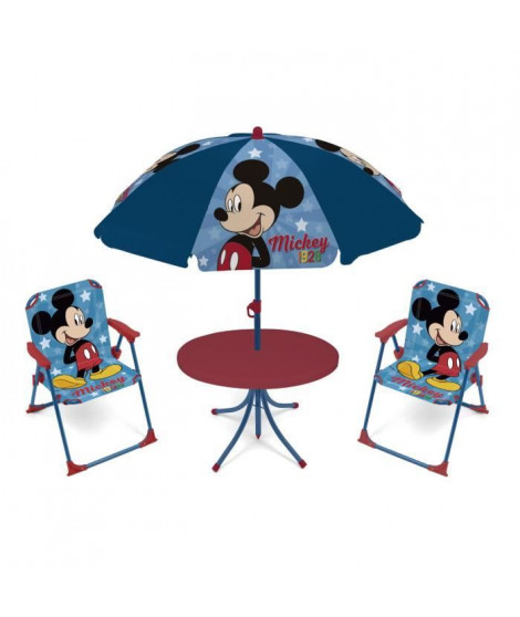 SALON DE JARDIN 4 PIECES ENFANTS DISNEY MICKEY MOUSE