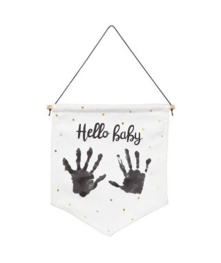 MY BABY FLAG Mon petit drapeau personnalisable - Baby Art
