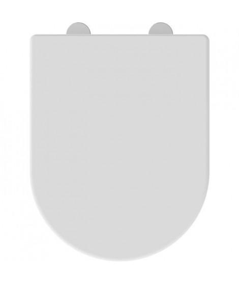 ALLIBERT Abattant de toilette Kobeo - Blanc brillant