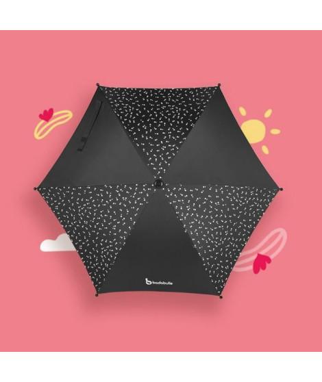 BADABULLE Ombrelle Noire Anti UV 50+