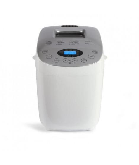 LIVOO DOP205W Machine a Pain  - Ecran Digital 15 Programmes - Blanc