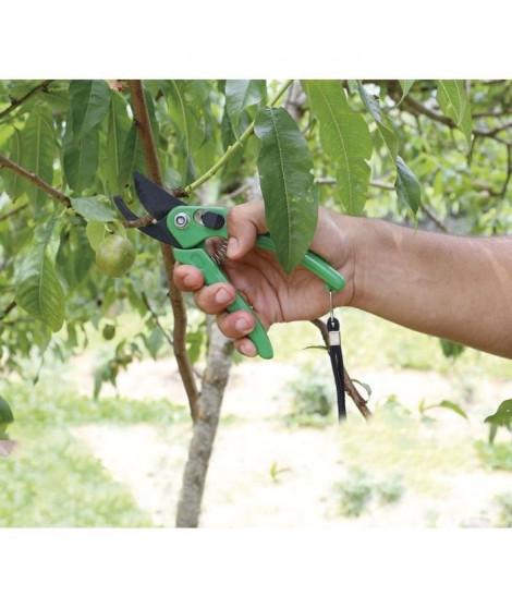 GREENGERS Sécateur de jardin poigné en plastique - Vert