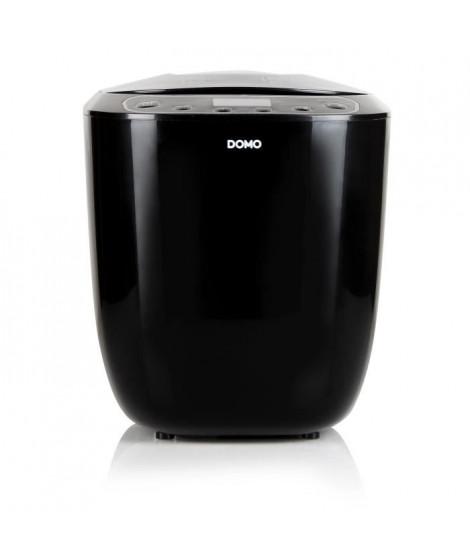 DOMO B3973 Machine a pain automatique - 12 programmes - pains de 700 ou 1000g - Noir