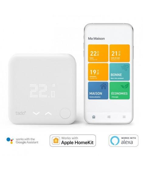 tado° - Thermostat Intelligent Filaire - Kit de démarrage V3+