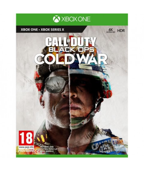 Call of Duty : Black OPS Cold War Jeu Xbox One