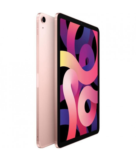 Apple - 10,9 iPad Air (2020) WiFi + Cellulaire 256Go - Or Rose