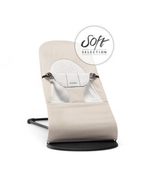BABYBJORN Transat Balance Soft Beige/Gris, Cotton/Jersey