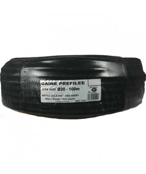JANOPLAST Gaine préfilée - Diametre 20 mm - 100 m