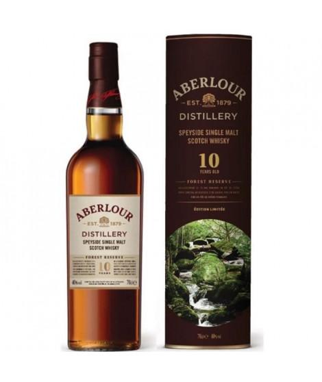 Aberlour 10 ans Forest Reserve - Highland Single Malt scotch whisky - 40%vol - 70cl Etui en edition limitée