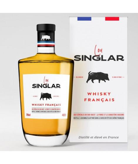 LOU SINGLAR Whisky Blended Français - 40° - 70 cl - Avec etui