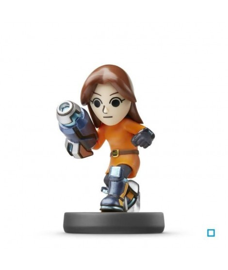 Figurine Amiibo Tireuse Mii Super Smash Bros N°50