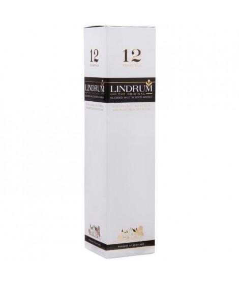 Lindrum 12 ans - Blended Malt Scotch Whisky - 43% - 70 cl - Etui