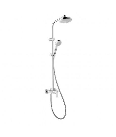 HANSGROHE Colonne de douche Showerpipe MyClub 180 avec mitigeur mécanique