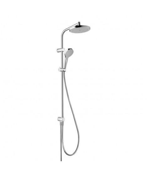 HANSGROHE Colonne de douche Showerpipe MySelect S sans robinetterie pour baignoire
