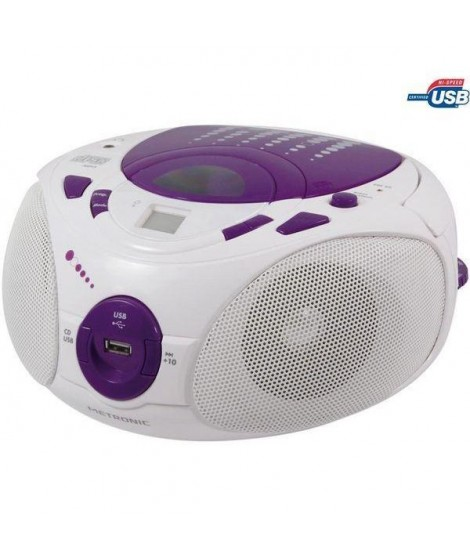 MET 477112 Radio CD-MP3 Pop Purple