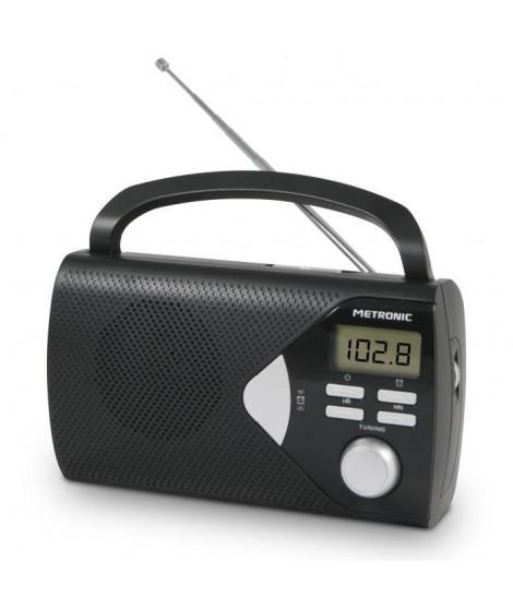 MET 477205 Radio portable Noire