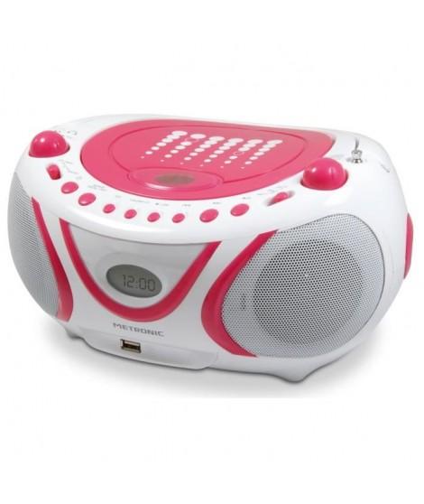 MET 477109 Radio CD-MP3 Pop Pink