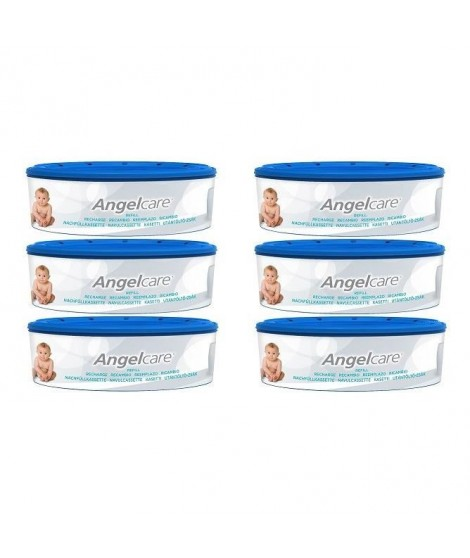 ANGEL CARE 6 Recharges Rondes Compatibles : Classic, Mini, Comfort, Deluxe