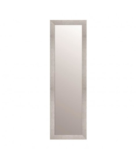 TEXA Miroir rectangulaire 30x120 cm Argent