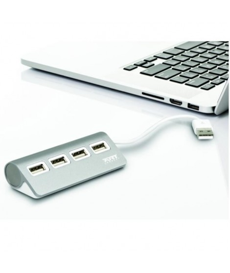 PORT DESIGNS Hub USB 4 ports 2.0