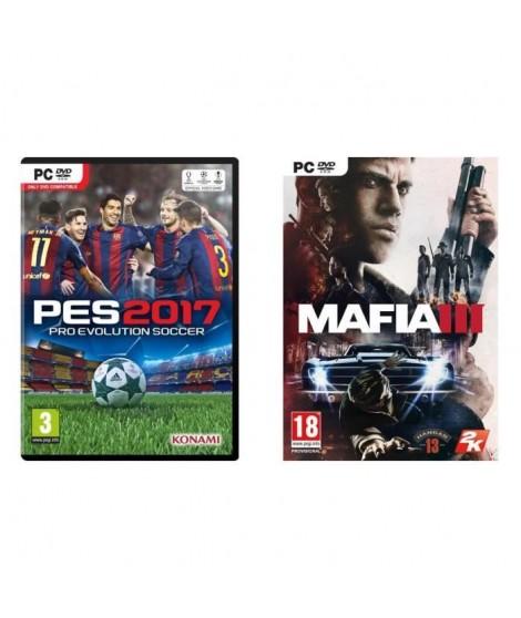 PES 2017 + Mafia III Jeux PC