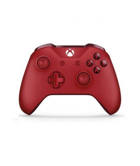 Manette Xbox Sans Fil Rouge