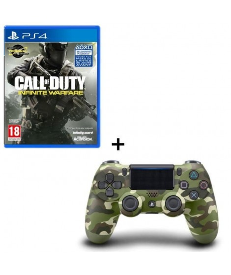 Call of Duty Infinite Warfare + Manette DualShock 4 Green Camo