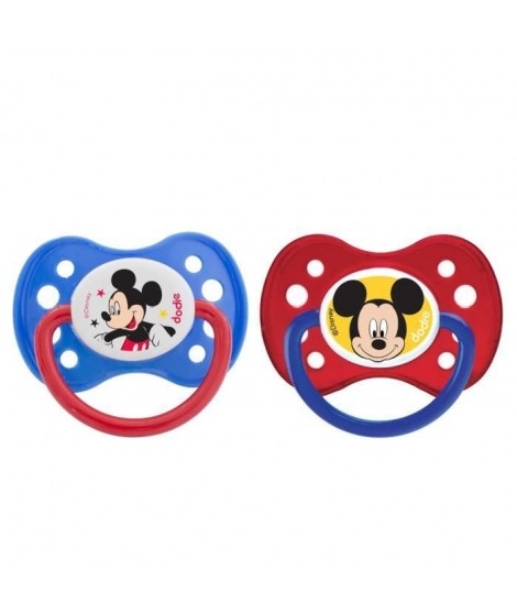 MICKEY Dodie Sucette Anatomique +6 Mois Duo A63