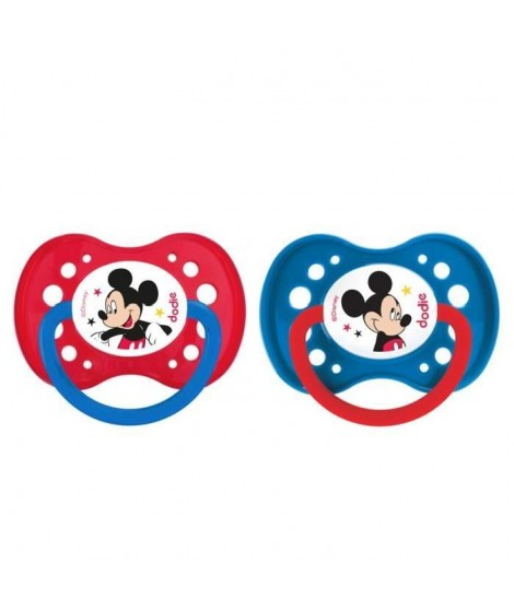 MICKEY Dodie Sucette Anatomique +18 Mois Duo A65